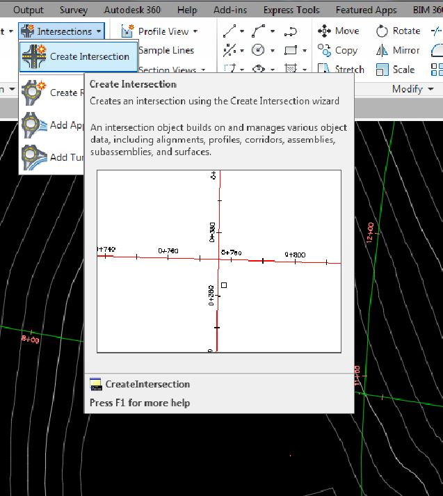 Quick Intersections in Civil 3D | LDO Team